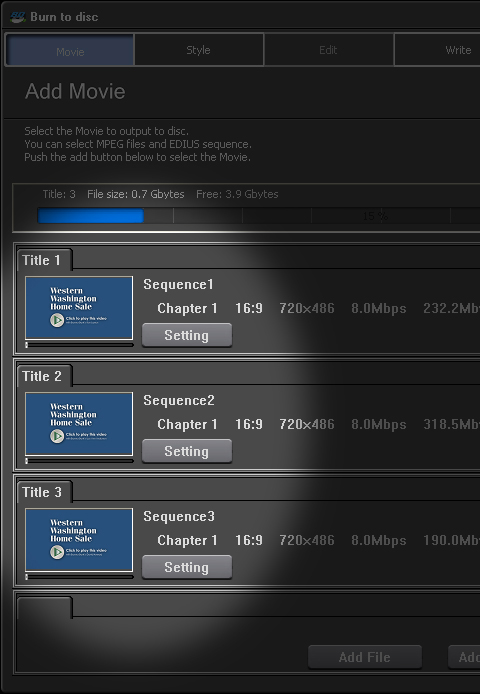 Edius 5 DVD Sequence Export Alt 1b