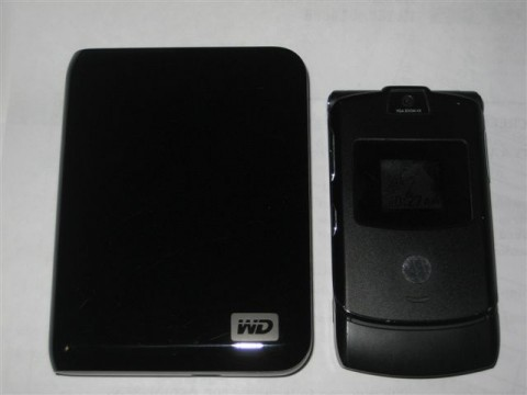 Western Digital My Passport Hard Drive 012