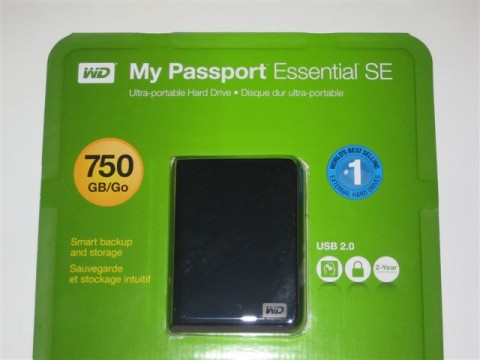 Western Digital My Passport Hard Drive 022