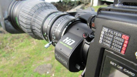 Professional Sony HD Cam with Fujinon High Definition lens