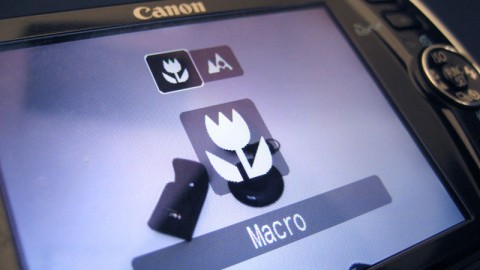 Macro videography and product reviews with a digital camera
