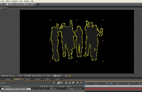 After Effects elements for motion graphics