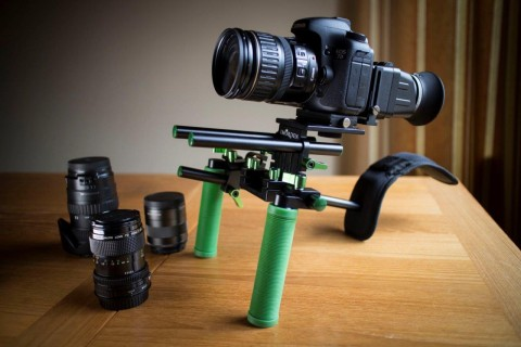 Imorden Shoulder Rig with Canon 7D
