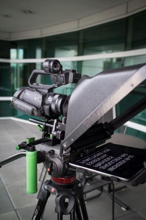 Imorden Shoulder Rig with Teleprompter