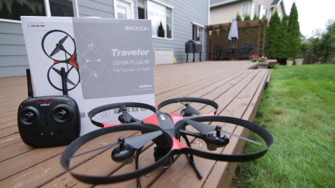 Drocon Traveler U818A Plus FPV Drone 10